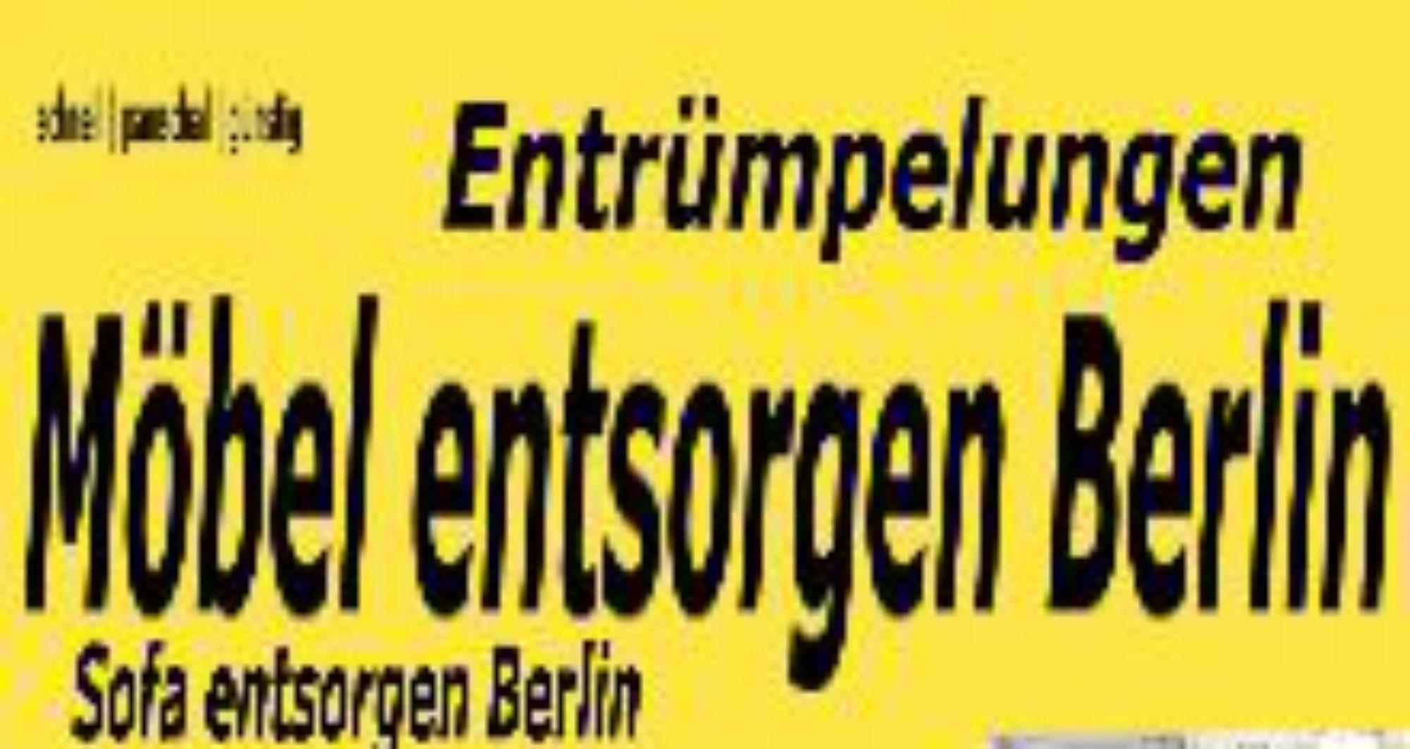Entrümpelungen Berlin pauschal preiswert